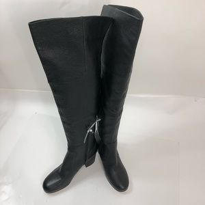 New Via Spiga real leather high boots size 9M top